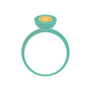 An illustration of a ring